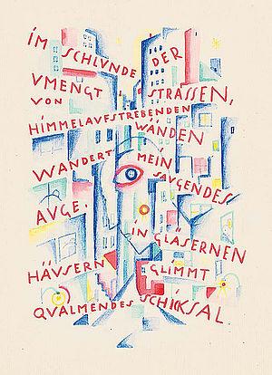 Carry Hauser, Das Buch von der Stadt, 1921