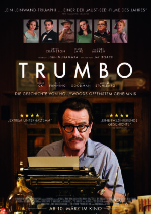 Trumbo Filmplakat