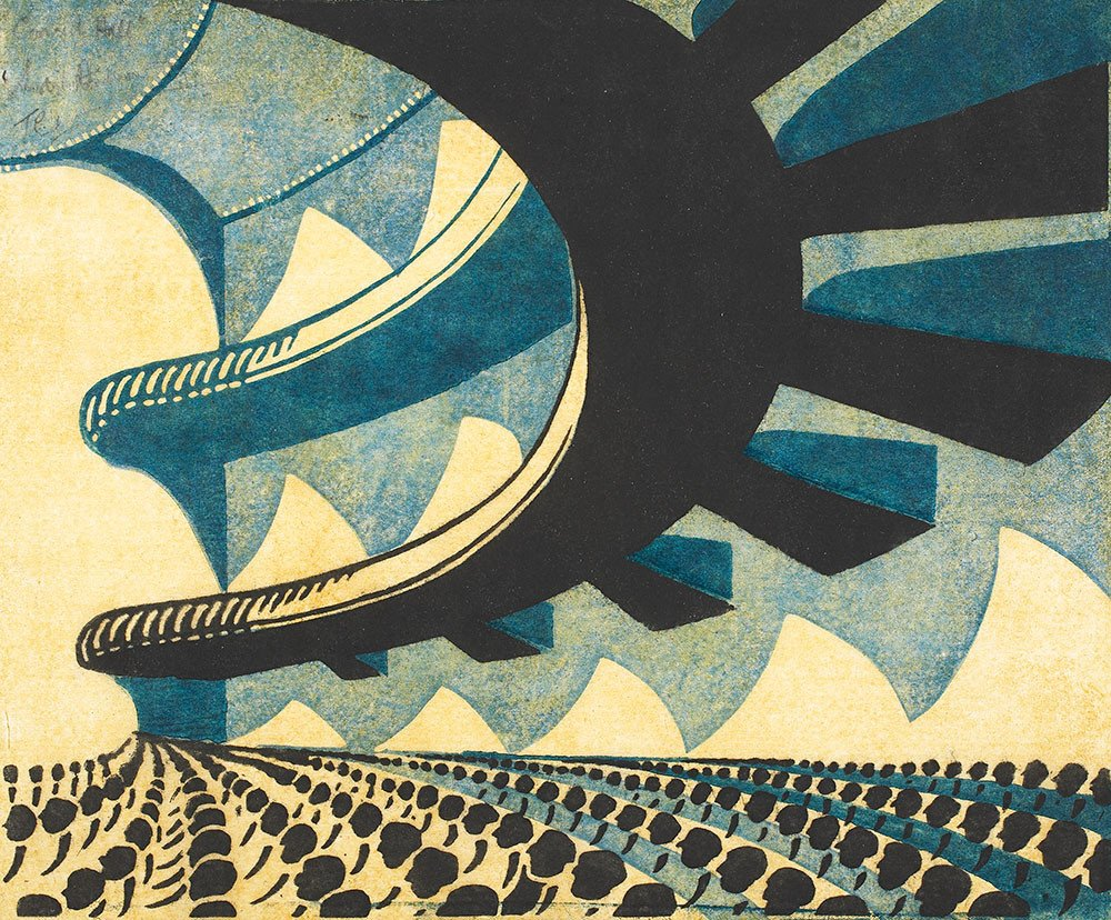 "Sybil Andrews ""Concert Hall"",1929"