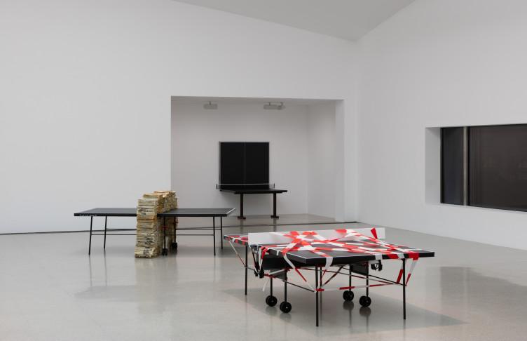 Julius Koller Ping Pong Tischtennistische