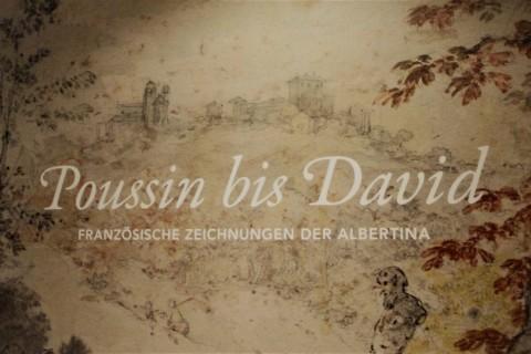Poussin bis David Ausstellungsplakat