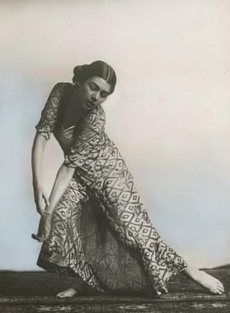 Hugo Erfurth: Clotilde von Derp-Sacharoff, um 1928