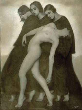 Rudolf Koppitz: Bewegungsstudie, 1926