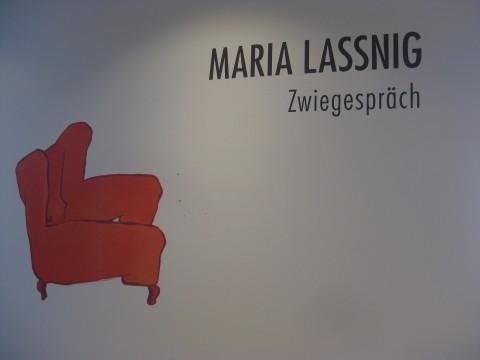Maria Lassnig. Zwiegespräch.