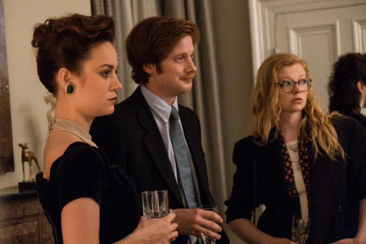 Die Geschwister Jeannette Walls (Brie Larson) Brian Walls (Josh Caras) und Lori Walls (Sarah Snook).