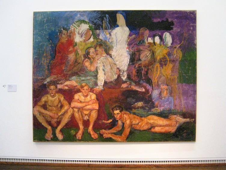Die Malerfamilie, um 1933