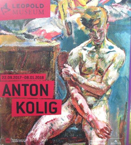 Anton Kolig Ausstellungsplakat