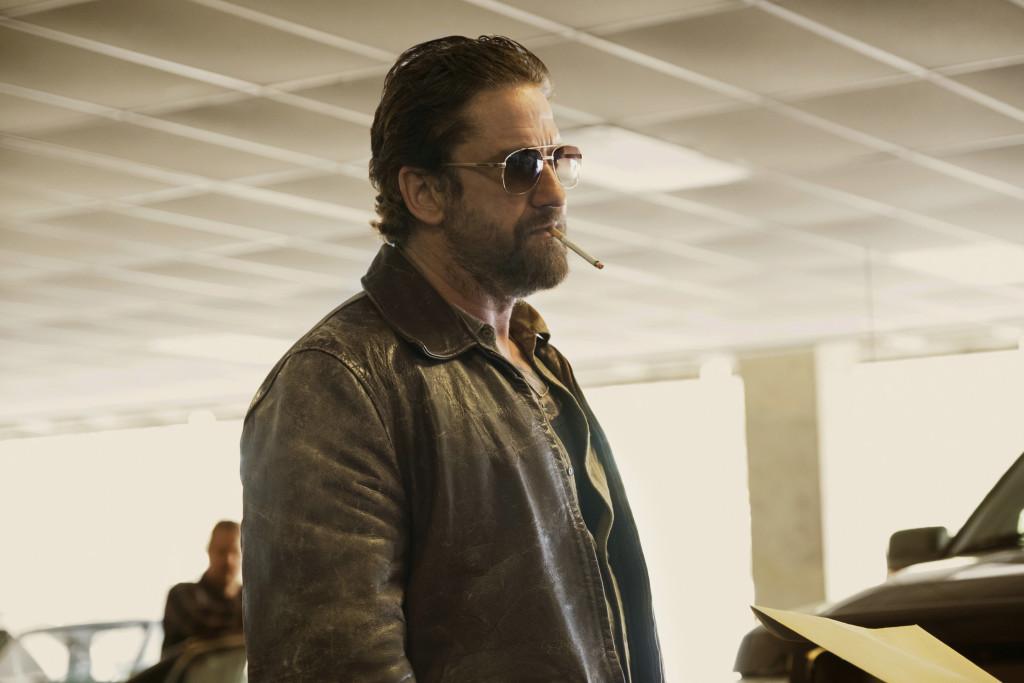 Detective O'Brien (Gerard Butler) ist so cool, dass er auch drinnen Sonnenbrillen trägt