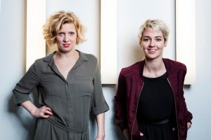 v.l.n.r.: Eva Puchner und Susanne Preissl