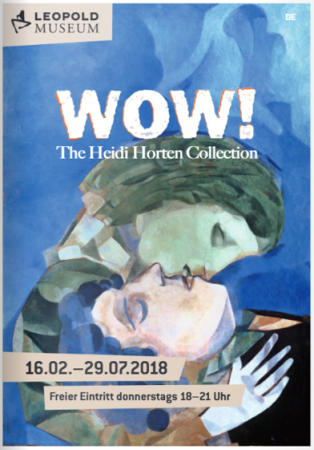 Ausstellungsplakat WOW! The Heidi Horten Collection Leopold Museum Wien