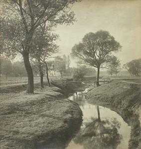 Landschaftsstudie, um 1890, C Privatbesitz, Leopold Museum, Wien/Manfred Thumberger